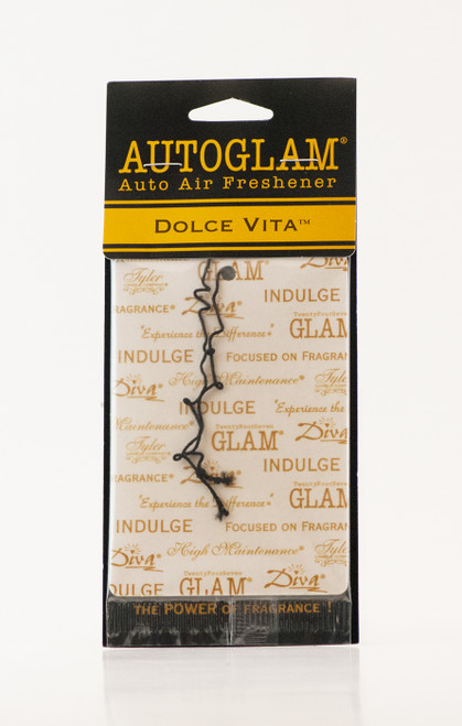 Dolce Vita Autoglam Gold on White by Tyler Candle Company