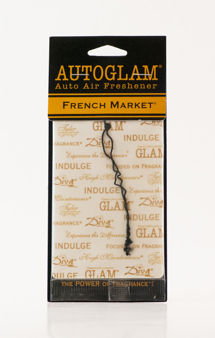 French Market Autoglam Gold on White by Tyler Candle Company
