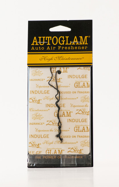 High Maintenance Autoglam Gold on White by Tyler Candle Company