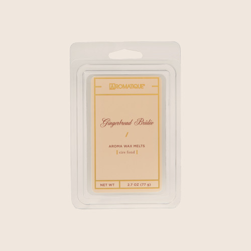 Gingerbread Brulee 2.7 oz. Aroma Wax Melts by Aromatique