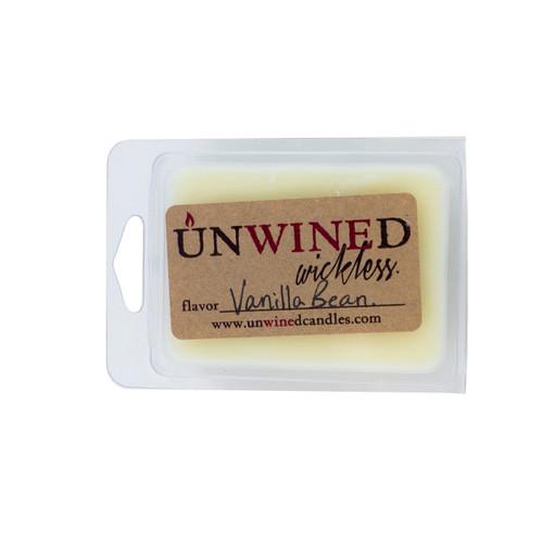 Vanilla Bean Wickless Unwined Scented Wax Blocks