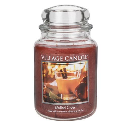 Mulled Cider 26 oz. Premium Round by Village Candles