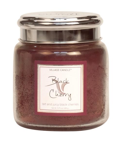 Black Cherry 16 oz. White Label Jar by Village Candle