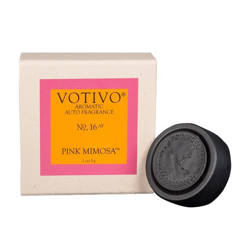Pink Mimosa Aromatic Auto Fragrance Votivo Candle