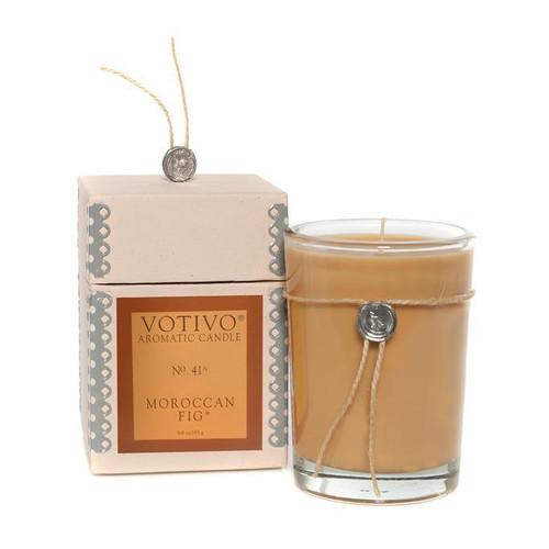 Moroccan Fig Aromatic Jar Votivo Candle