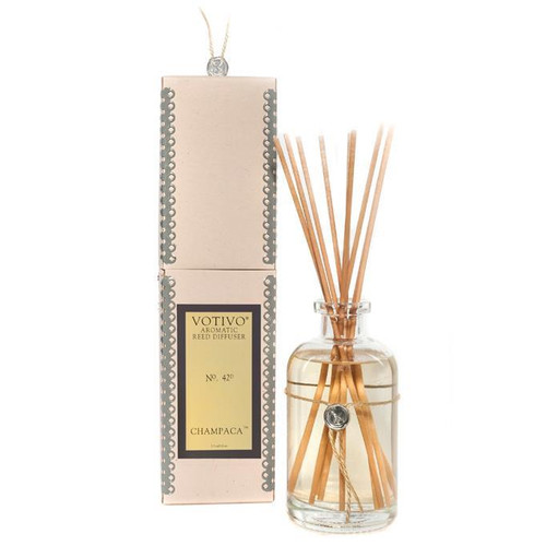 Champaca Aromatic Reed Diffuser Votivo Candle