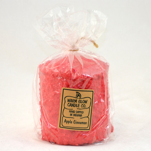 Apple Cinnamon Hearth Candle by Warm Glow Candles