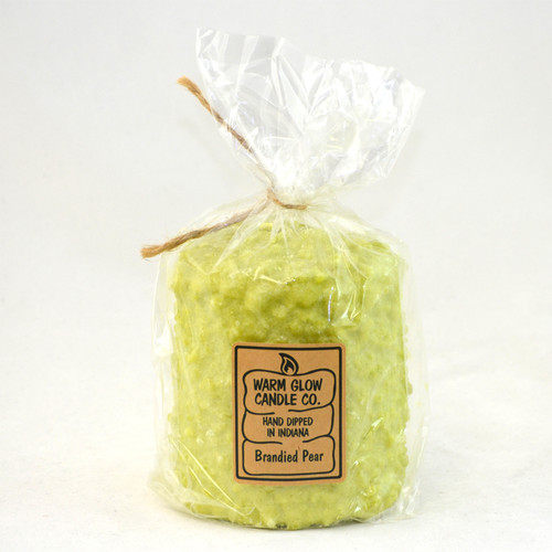 Brandied Pear Hearth Candle by Warm Glow Candles