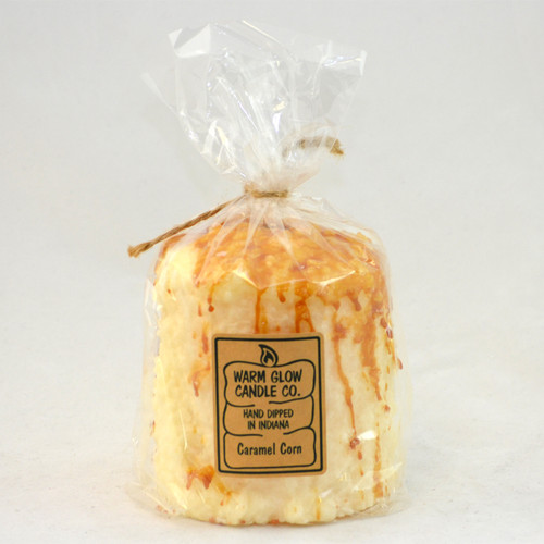 Caramel Corn Hearth Candle by Warm Glow Candles