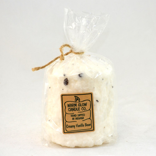 Creamy Vanilla Bean Hearth Candle by Warm Glow Candles