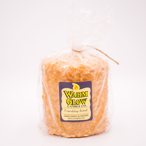 Friendship Bread Hearth Candle by Warm Glow Candles