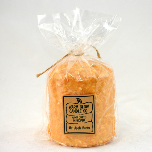 Hot Apple Butter Hearth Candle by Warm Glow Candles