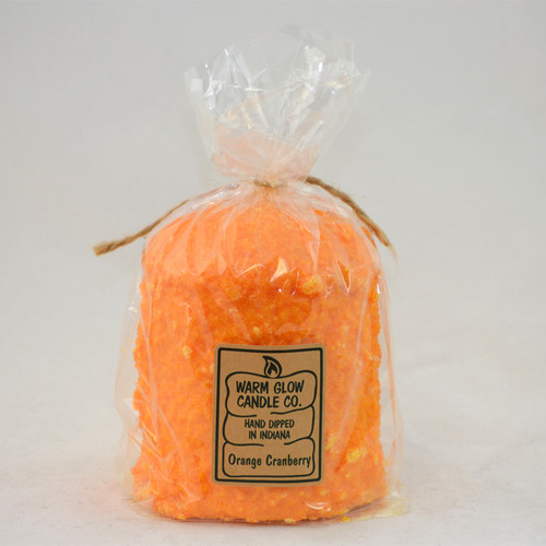 Orange Cranberry Hearth Candle by Warm Glow Candles