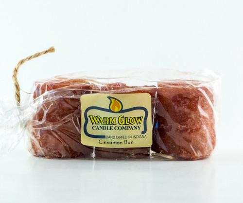 Cinnamon Bun  3-pack Votive by Warm Glow Candles