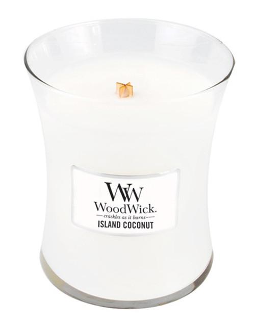 Island Coconut WoodWick Candle 10 oz.