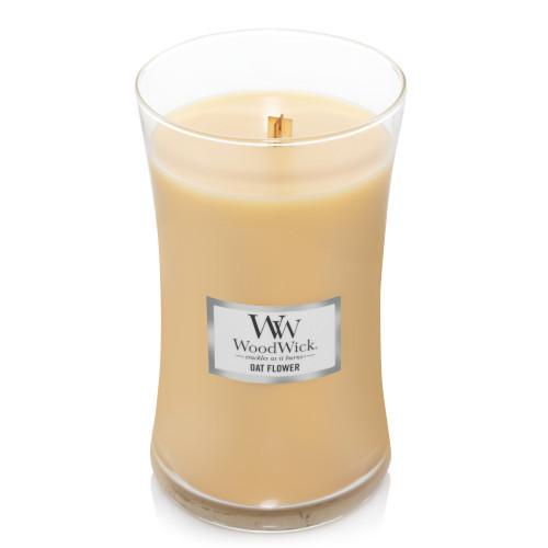 Oat Flower WoodWick Large Jar Candle