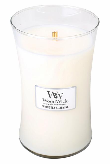 White Tea & Jasmine WoodWick Candle 22 oz.