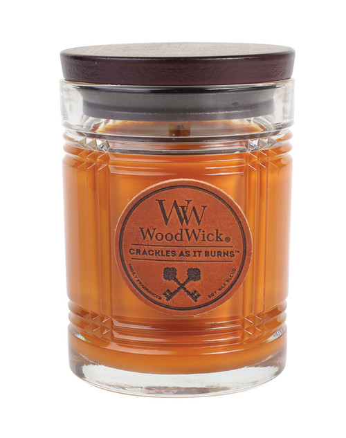 Leather WoodWick Reserve Collection 8.5oz Candle