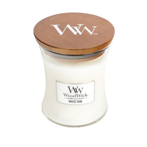 White Teak WoodWick Candle 10 oz.