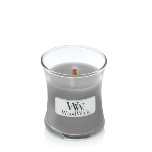 Suede & Sandalwood WoodWick Candle 3.4 oz.