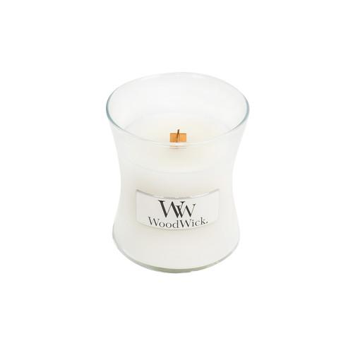 White Teak WoodWick Candle 3.4 oz.