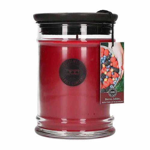 Berries Jubilee Large Jar Candle - Bridgewater