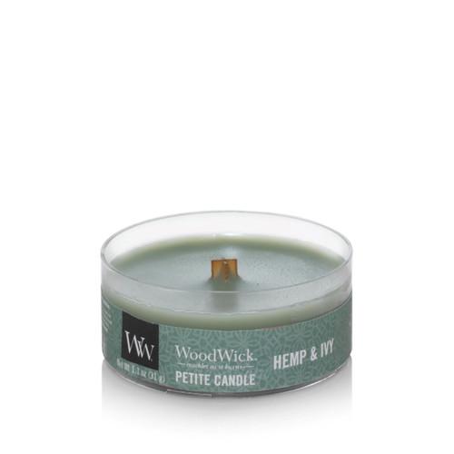 Hemp & Ivy Petite WoodWick Candle