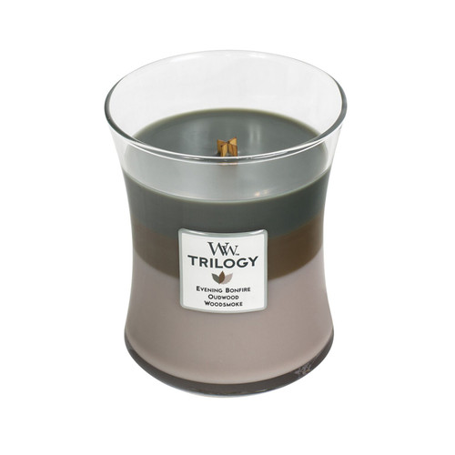 Cozy Cabin WoodWick Trilogy Candle 10 oz.