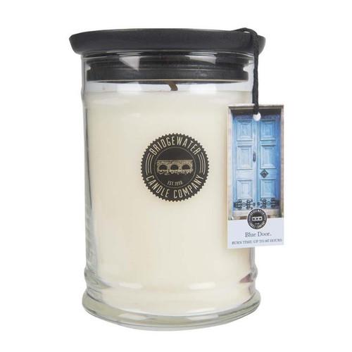 Blue Door Large Jar Candle - Bridgewater