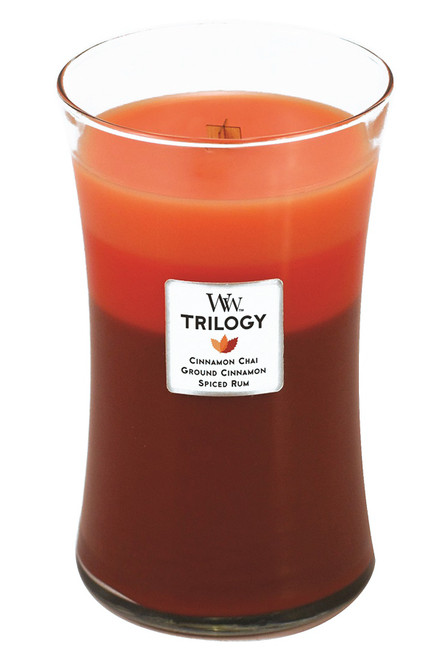 Exotic Spices WoodWick Trilogy Candle 22 oz.