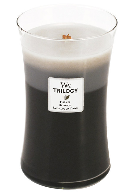 Warm Woods WoodWick Trilogy Candle 22oz