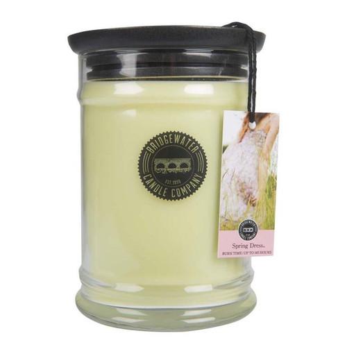Spring Dress Large Jar Candle - Bridgewater
