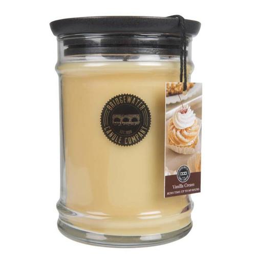 Vanilla Cream Large Jar Candle - Bridgewater