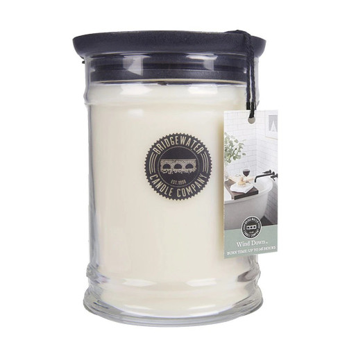 Wind Down Large Jar Candle - Bridgewater