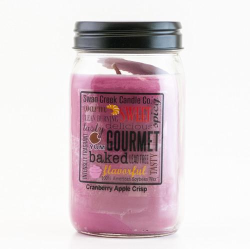 Cranberry Apple Crisp 24 oz. Swan Creek Kitchen Pantry Jar Candle
