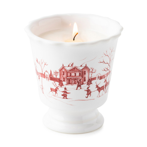Country Estate Winter Frolic in Ruby Scented Candle by Juliska