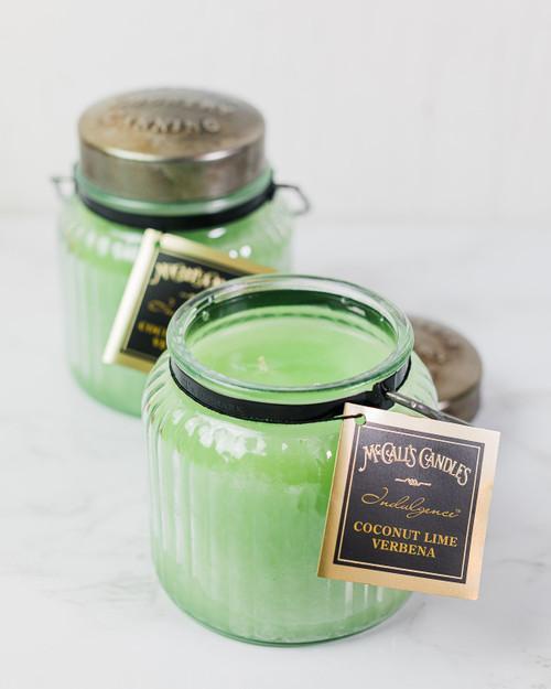 Coconut Lime Verbena 18 oz. McCalls Indulgence Candle 2-Pack