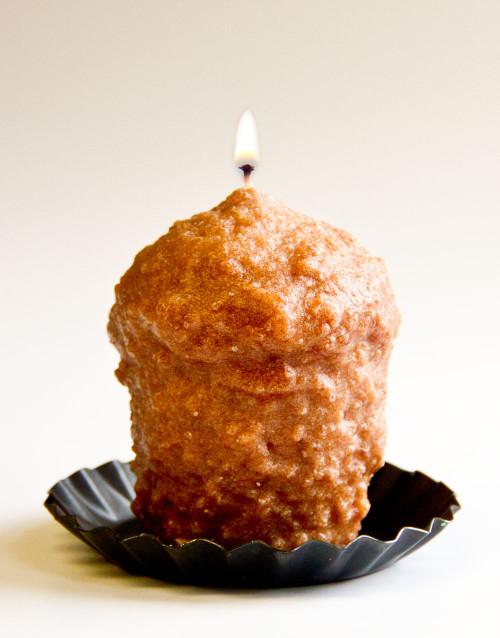 Caramel Coffee Cake  Oversized Votive  by Warm Glow Candles