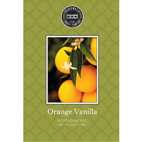 Orange Vanilla Scented Sachets - Bridgewater