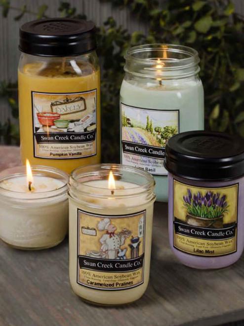 Harvest Spice 24 oz. Swan Creek Kitchen Pantry Jar Candle