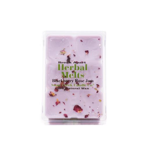 Blackberry Rose Jam 5.25 oz. Swan Creek Candle Drizzle Melts