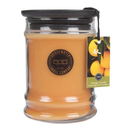 Orange Vanilla Small Jar Candle - Bridgewater
