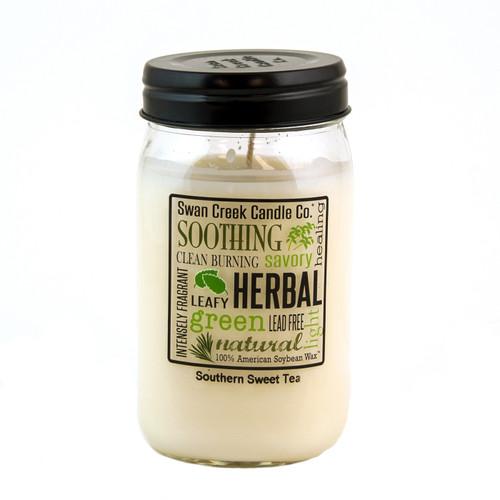 Southern Sweet Tea 24 oz. Swan Creek Kitchen Pantry Jar Candle
