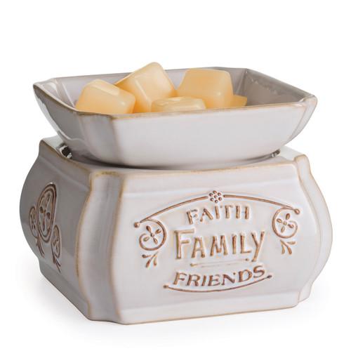 Faith,  Family,  Friends 2-in-1 Classic Fragrance Warmer