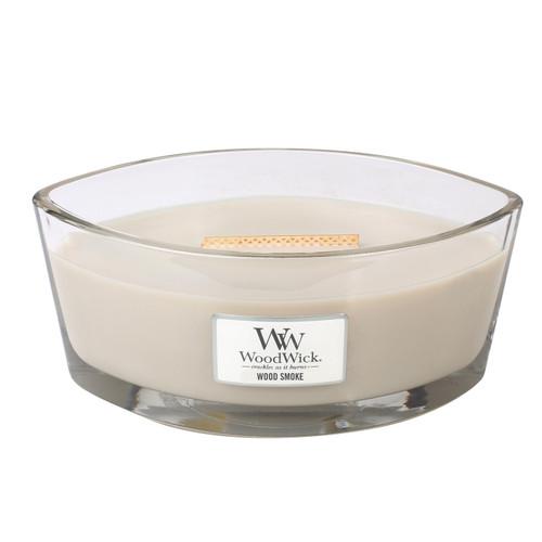 Wood Smoke WoodWick Candle 16 oz. HearthWick Flame