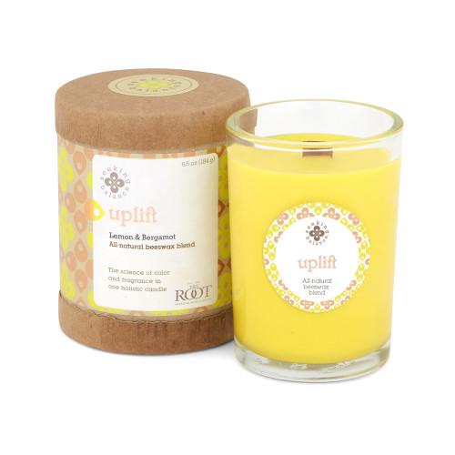 Seeking Balance 6.5 Oz Original Spa Candle Lemon & Bergamot Uplift Candle