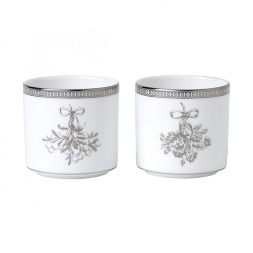Winter White Votive Set of 2 by Wedgwood