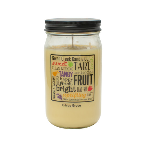Citrus Grove 24 oz. Swan Creek Kitchen Pantry Jar Candle
