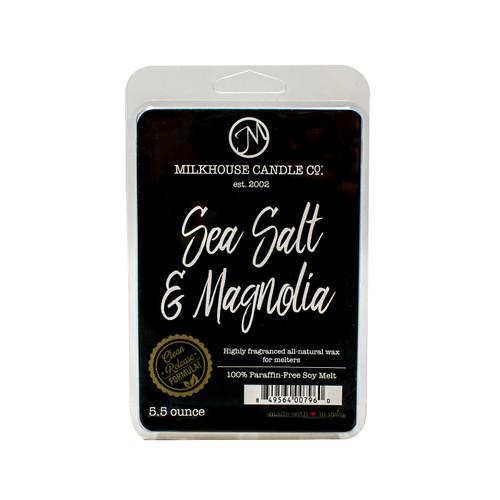 Sea Salt & Magnolia 5.5 oz. Fragrance Melt by Milkhouse Candle Creamery