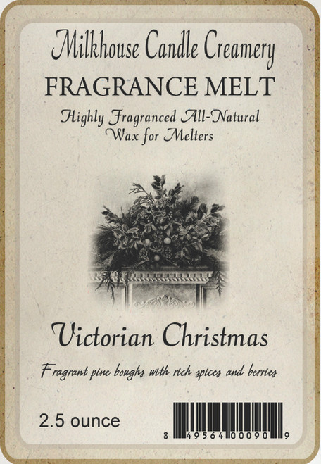 Victorian Christmas Fragrance Melt by Milkhouse Candle Creamery